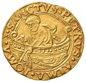 reverse: Roma. Sisto IV (1471-1484). Fiorino di camera AV gr. 3,37. Muntoni 10. Berman 448. MIR 452/1. Raro. q.SPL