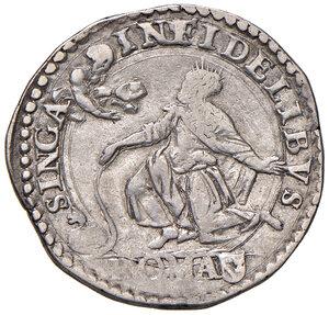 reverse: Roma. Gregorio XIII (1572-1585). Testone AG gr. 9,39. Muntoni 69. Berman 1168. MIR 1131/8. Buon BB