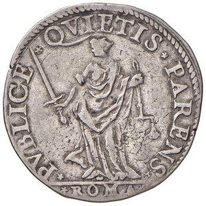 reverse: Roma. Sisto V (1585-1590). Testone AG gr. 9,34. Muntoni 19. Berman 1320. MIR 1329/1. BB