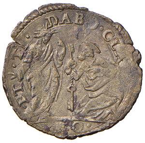 reverse: Roma. Sisto V (1585-1590). Baiocco MI gr. 0,88. Muntoni 61. Berman 1339. MIR 1330/1. Molto raro. Buon BB
