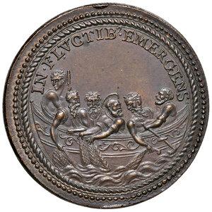 reverse: Roma. Sisto V (1585-1590). Medaglia anno I (1585) AE gr. 13,95 diam. 29,8 mm. Opus Gianfederico Bonzagni. Per l'elezione al pontificato. CNORP IV, 817. Coniazione postuma. SPL