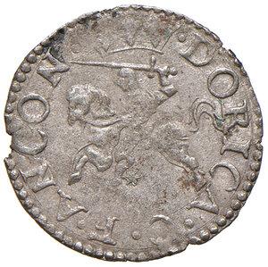 reverse: Ancona. Sisto V (1585-1590). Baiocco MI gr. 0,95. Muntoni 84. Berman 1353. Dubbini-Mancinelli pag. 173 (2° tipo). MIR 1345/2. Rarissimo. Migliore di BB