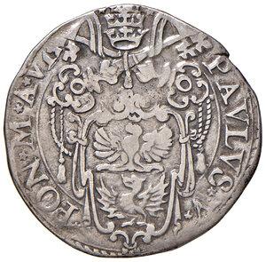 obverse: Roma. Paolo V (1605-1621). Testone anno VI AG gr. 9,36. Muntoni 39. Berman 1553. MIR 1539/11.  BB