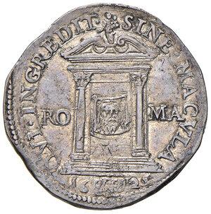 reverse: Roma. Urbano VIII (1623-1644). Testone anno santo 1625/II AG gr. 9,52. Muntoni 49. Berman 1717. q.SPL