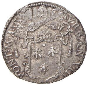 obverse: Roma. Urbano VIII (1623-1644). Testone anno VI AG gr. 9,58. Muntoni 62. Berman 1723. Migliore di BB