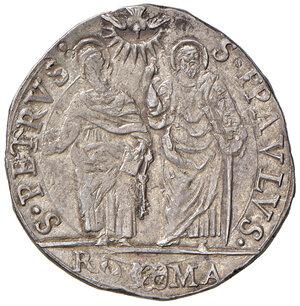 reverse: Roma. Urbano VIII (1623-1644). Testone anno VI AG gr. 9,58. Muntoni 62. Berman 1723. Migliore di BB