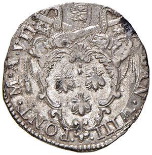 obverse: Roma. Urbano VIII (1623-1644). Testone anno VII AG gr. 9,65. Muntoni 67b. Berman 1724. Lievi debolezze di conio, altrimenti esemplare con bei fondi brillanti e SPL 150