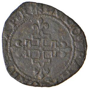 obverse: L'Aquila. Luigi XII re di Francia (1501-1503). Sestino AE gr. 2,17. D.A. 143. MIR 115. Raro. Buon BB