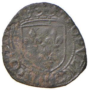 reverse: L'Aquila. Luigi XII re di Francia (1501-1503). Sestino AE gr. 2,17. D.A. 143. MIR 115. Raro. Buon BB