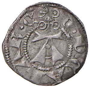 obverse: Ascoli. Conte da Carrara (1414-1420). Bolognino AG gr. 1,02. CNI 2. Mazza –.  Raro. q.SPL