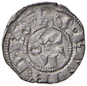 reverse: Ascoli. Martino V (1417-1431). Bolognino AG gr. 1,06. Muntoni 26. Mazza 48. Berman 277. MIR 282/1. Molto raro. SPL