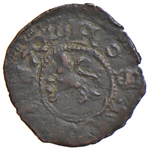 obverse: Ascoli. Francesco Sforza (1433-1445). Picciolo MI gr. 0,52. CNI 11 (M. Correr). Mazza –. Legenda del rovescio con DE.SCVLO. Molto raro. BB