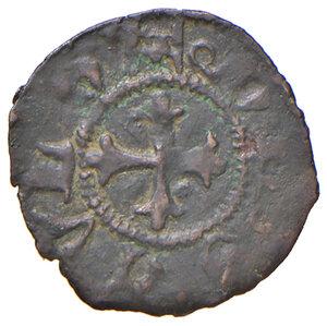 reverse: Ascoli. Francesco Sforza (1433-1445). Picciolo MI gr. 0,52. CNI 11 (M. Correr). Mazza –. Legenda del rovescio con DE.SCVLO. Molto raro. BB