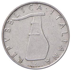 obverse: Repubblica Italiana (dal 1946). Da 5 lire 1956 IT. Pagani 2361.  Rara. Buon BB