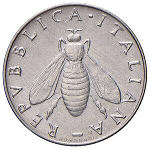 obverse: Repubblica Italiana (dal 1946). Da 2 lire 1958 IT. Pagani 2411.  Molto rara. SPL