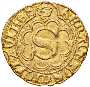 obverse: Siena. Gian Galeazzo Visconti (1390-1404). Delibera 4 luglio 1391. Sanese AV gr. 3,49. CNI 8 (segno 70; un solo esemplare repertoriato). MIR 509/3 (segno 57).  Rarissimo. q.SPL