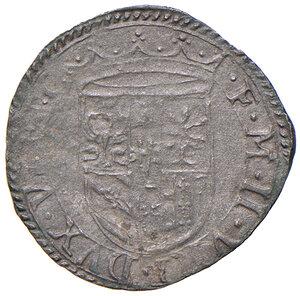 obverse: Urbino. Francesco Maria II della Rovere (1574-1624). Da 4 quattrini MI gr. 0,76. CNI 194. Cavicchi 227. Molto raro. q.SPL