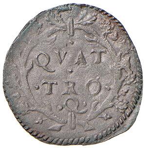 reverse: Urbino. Francesco Maria II della Rovere (1574-1624). Da 4 quattrini MI gr. 0,76. CNI 194. Cavicchi 227. Molto raro. q.SPL