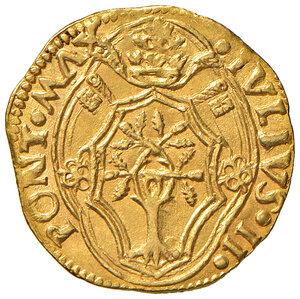 obverse: Bologna. Giulio II (1503-1513). Ducato papale (1503-1507) AV gr. 3,48. Muntoni 90. Berman 602. Chimienti 236. MIR 577. SPL