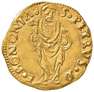reverse: Bologna. Giulio II (1503-1513). Ducato papale (1503-1507) AV gr. 3,48. Muntoni 90. Berman 602. Chimienti 236. MIR 577. SPL