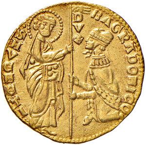 obverse: Venezia. Bartolomeo Gradenigo (1339-1342). Ducato AV gr. 3,54. Paolucci 1. Raro. SPL