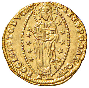 reverse: Venezia. Andrea Dandolo (1343-1354). Ducato AV gr. 3,54. Paolucci 1. SPL
