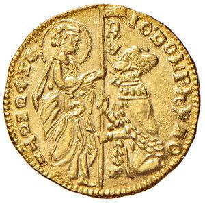 obverse: Venezia. Giovanni Dolfin (1356-1361). Ducato AV gr. 3,54. Paolucci 1.  Migliore di SPL