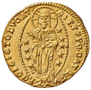 reverse: Venezia. Giovanni Dolfin (1356-1361). Ducato AV gr. 3,54. Paolucci 1.  Migliore di SPL
