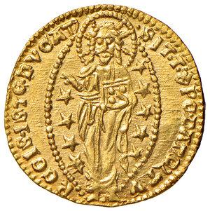 reverse: Venezia. Lorenzo Celsi (1361-1365). Ducato AV gr. 3,56. Paolucci 1. Conservazione eccezionale, q.FDC