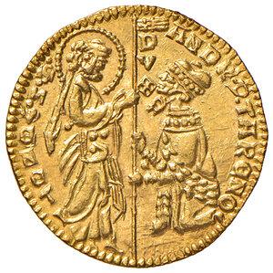 obverse: Venezia. Andrea Contarini (1368-1382). Ducato AV gr. 3,56. Paolucci 1. Conservazione eccezionale, FDC