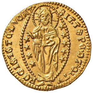 reverse: Venezia. Andrea Contarini (1368-1382). Ducato AV gr. 3,56. Paolucci 1. Conservazione eccezionale, FDC