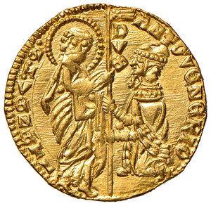 obverse: Venezia. Antonio Venier (1382-1400). Ducato AV gr. 3,56. Paolucci 1. Conservazione eccezionale, FDC