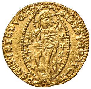 reverse: Venezia. Antonio Venier (1382-1400). Ducato AV gr. 3,56. Paolucci 1. Conservazione eccezionale, FDC