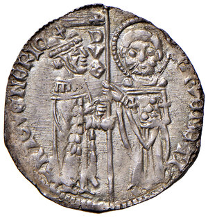 obverse: Venezia. Antonio Venier (1382-1400). Grosso AG gr. 1,88. Paolucci 2. Migliore di SPL