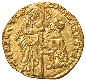 obverse: Venezia. Michele Steno (1400-1413). Ducato AV gr. 3,55. Paolucci 1. SPL