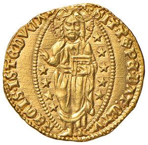 reverse: Venezia. Michele Steno (1400-1413). Ducato AV gr. 3,55. Paolucci 1. SPL