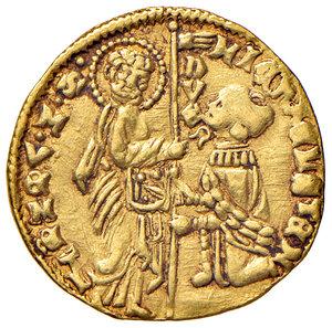 obverse: Venezia. Michele Steno (1400-1413). Ducato AV gr. 3,56. Paolucci 1. BB