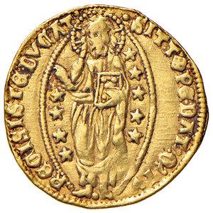 reverse: Venezia. Michele Steno (1400-1413). Ducato AV gr. 3,56. Paolucci 1. BB