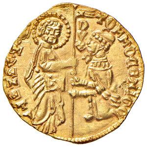 obverse: Venezia. Tomaso Mocenigo (1414-1423). Ducato AV gr. 3,56. Paolucci 1. Più di SPL