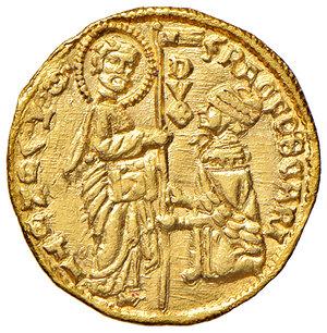 obverse: Venezia. Francesco Foscari (1423-1457). Ducato AV gr. 3,55. Paolucci 1. Esemplare ben coniato e di largo modulo, SPL