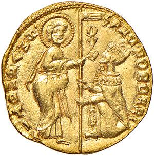obverse: Venezia. Francesco Foscari (1423-1457). Ducato AV gr. 3,51. Paolucci 1. SPL