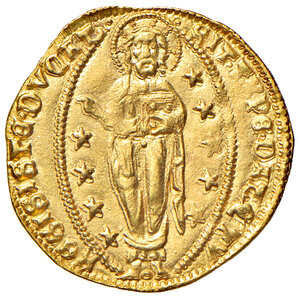 reverse: Venezia. Francesco Foscari (1423-1457). Ducato AV gr. 3,51. Paolucci 1. SPL