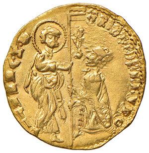 obverse: Venezia. Cristoforo Moro (1462-1471). Ducato AV gr. 3,52. Paolucci 1. Raro. Leggermente mosso di conio al dr., altrimenti q.SPL/SPL