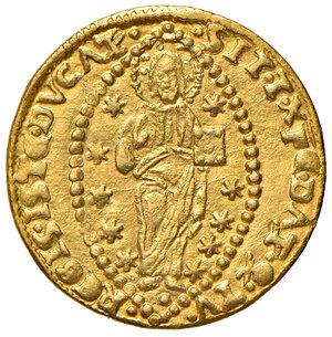 reverse: Venezia. Leonardo Loredan (1501-1521). Ducato AV gr. 3,48. Paolucci 1. Raro. Esemplare di bello stile, SPL