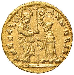 obverse: Venezia. Andrea Gritti (1523-1538). Ducato AV gr. 3,49. Paolucci 1. Migliore di SPL