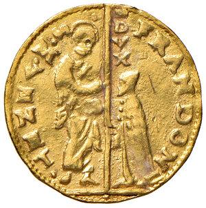 obverse: Venezia. Francesco Donà (1545-1553). Zecchino AV gr. 3,47. Paolucci 1. Infrazione del tondello, altrimenti buon BB