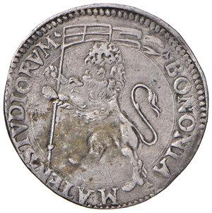 reverse: Bologna. Sisto V (1585-1590). Bianco AG gr. 4,34. Muntoni 98 var. I. Berman 1362. Chimienti 391. MIR 1356/1. Molto raro. q.BB