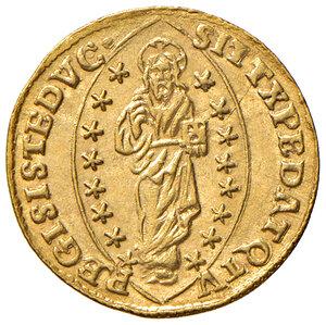 reverse: Venezia. Pasquale Cicogna (1585-1595). Zecchino AV gr. 3,49. Paolucci 1. Esemplare perfettamente coniato e di conservazione eccezionale, q.FDC