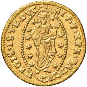 reverse: Venezia. Leonardo Donà (1606-1612). Zecchino AV gr. 3,48. Paolucci 1. Raro. q.SPL