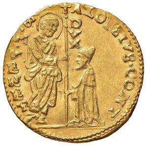 obverse: Venezia. Alvise Contarini (1676-1684). Zecchino AV gr. 3,49. Paolucci 1. SPL